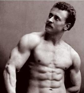 Train like a Sandow! – Physical Culture Study
