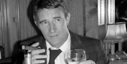 Malcolm Allison - cigar